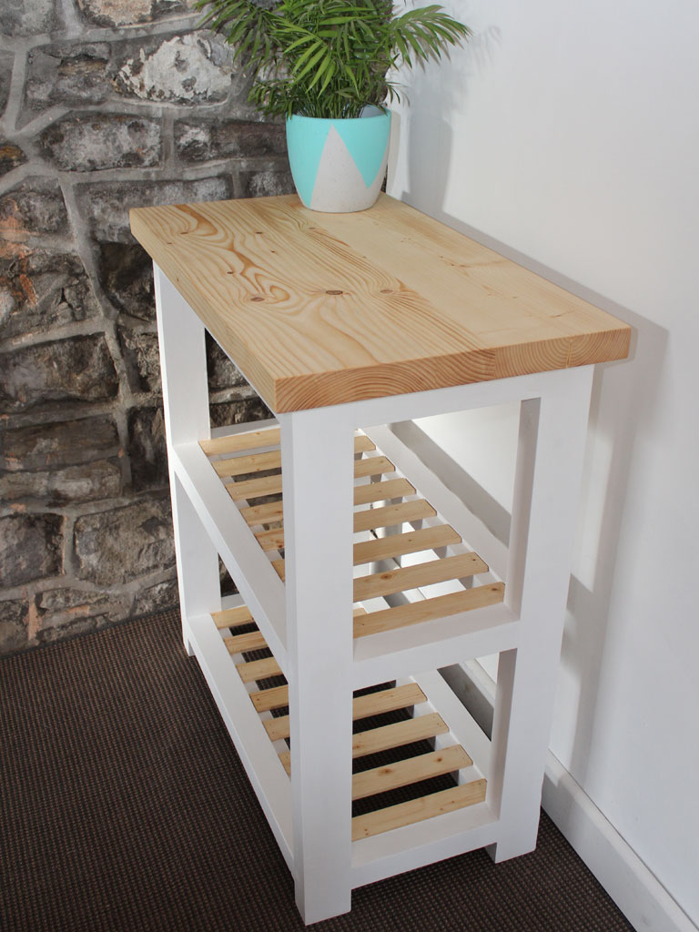Wood Butchers Block Kitchen Island
