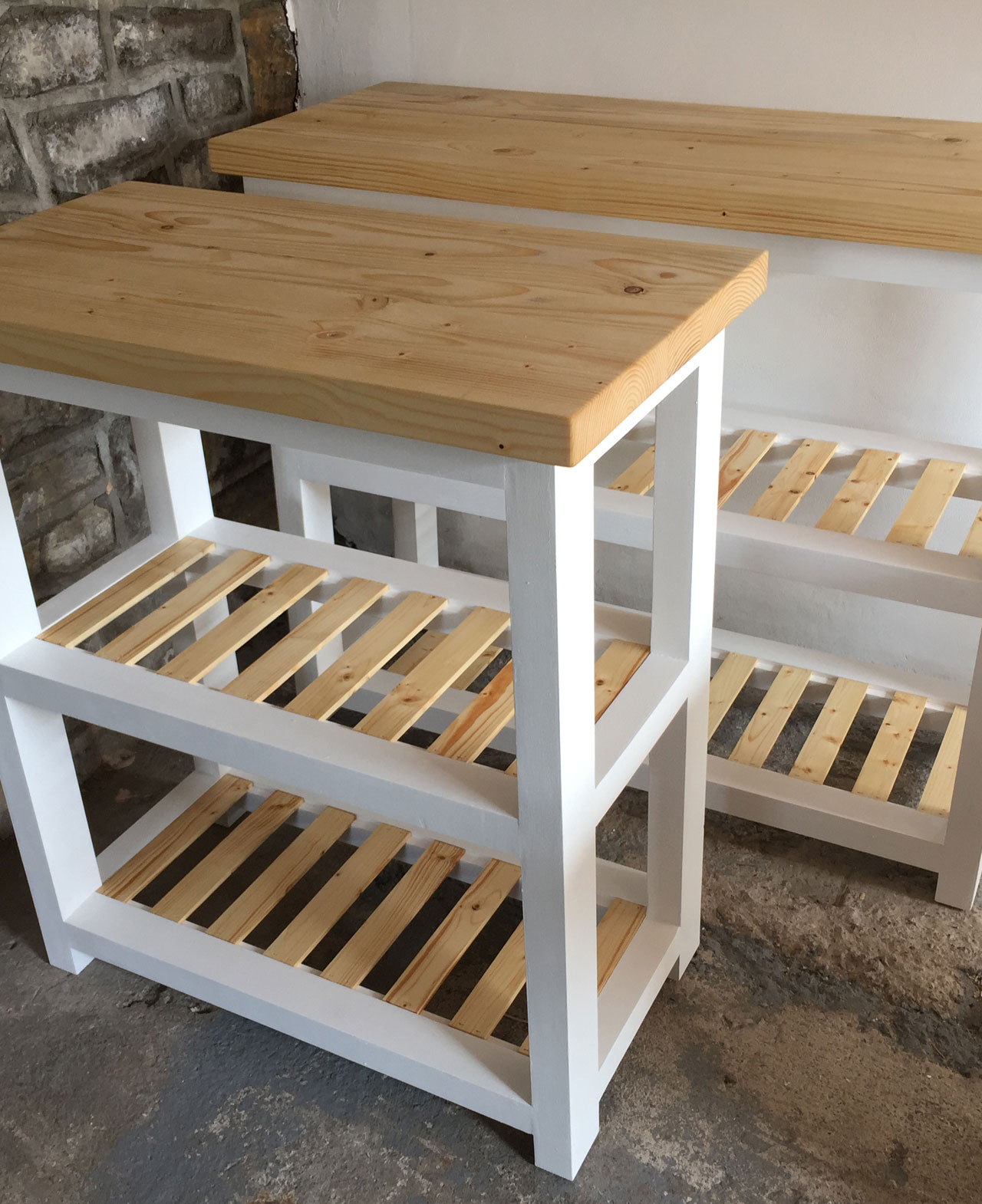 Piece of the week: Gilwern Butchers block storage unit