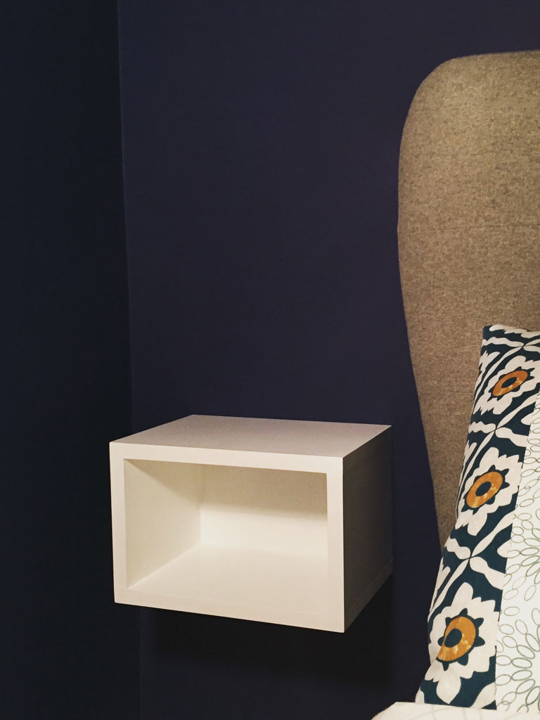Floating cube bedside table powell powell furniture floating cube bedside table watchthetrailerfo